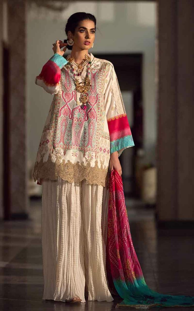 Asifa and Nabeel 6-C Summer Grace Luxury Lawn Vol 1