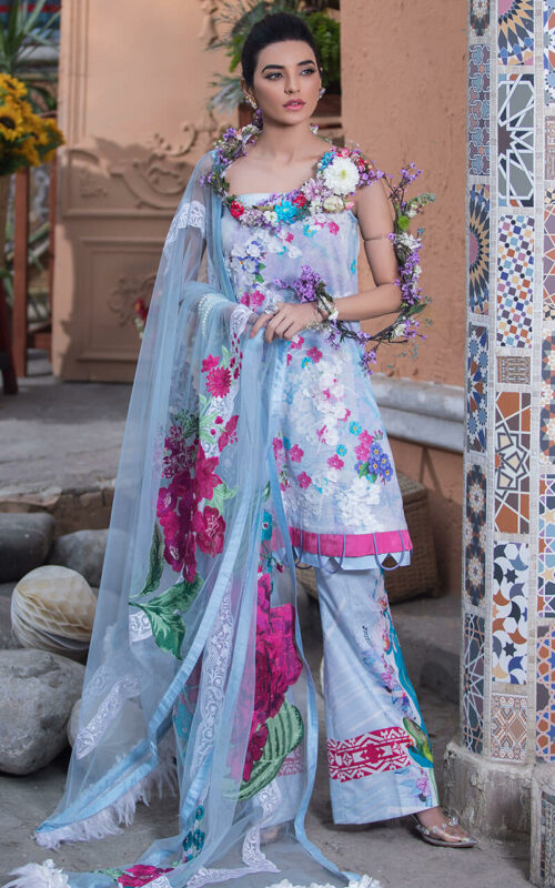 Asifa and Nabeel Montez LA-4 Luxury Lawn Vol 2