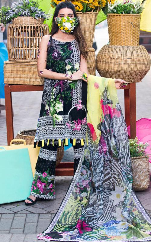 Asifa and Nabeel Leonor LA-5 Luxury Lawn Vol 2