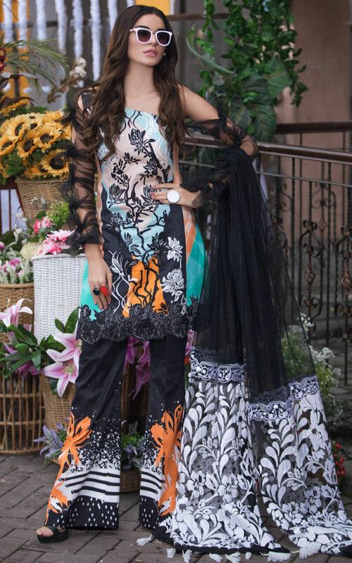 Asifa and Nabeel Lillynn-LA-11 Luxury Lawn Vol 2